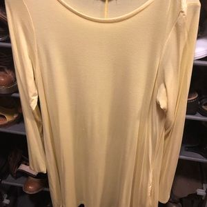 Large comfy Yellow dress